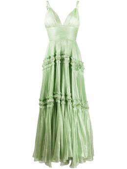 Maria Lucia Hohan плиссированное вечернее платье IRISA