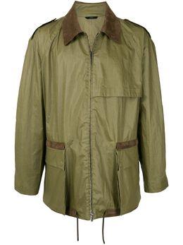 Fendi куртка на молнии FW0614ABAD