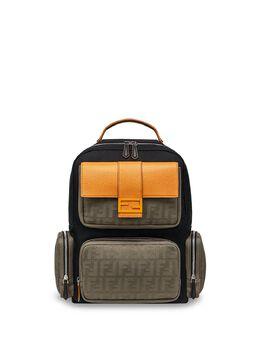 Fendi большой рюкзак с логотипом FF 7VZ048ABGA