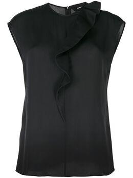 Giorgio Armani блузка без рукавов 0SHCCZ01TZ121