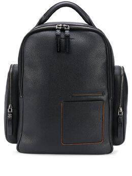 Ermenegildo Zegna рюкзак из зернистой кожи LHDAIC1558W