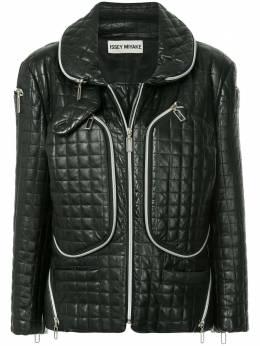 Issey Miyake Pre-Owned куртка на молнии IM13LD008