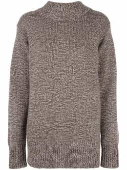 The Row кашемировый свитер оверсайз 4839Y387