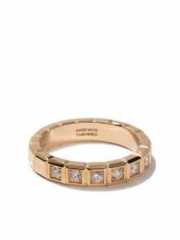 Chopard кольцо Ice Cube из желтого золота с бриллиантами 8298340036