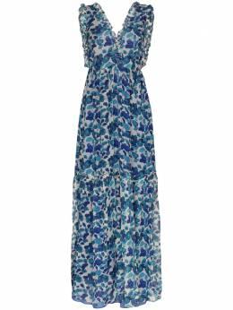 Adriana Degreas шифоновое платье макси с цветочным принтом VTLG0542V20