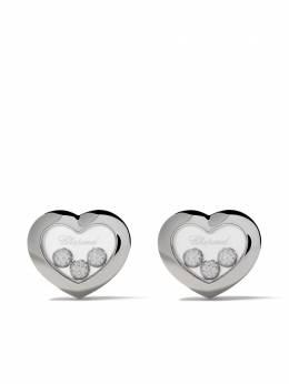 Chopard серьги Happy Diamonds Icons с бриллиантами 83A6111001