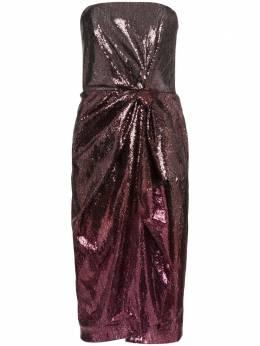 Mary Katrantzou платье Kylie без бретелей с пайетками KYLIEMD005