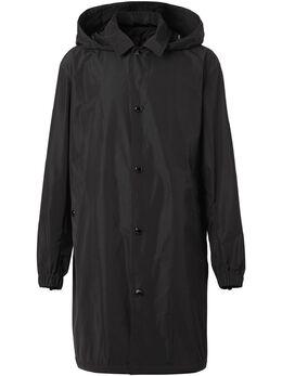 Burberry пальто с принтом Horseferry 8025643
