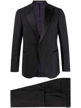 Bagnoli Sartoria Napoli костюм-двойка с однобортным пиджаком BAAGE81FF20TVBCU064
