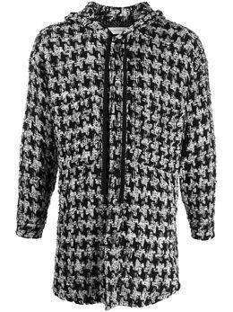 Faith Connexion твидовая куртка с капюшоном X1810T00553