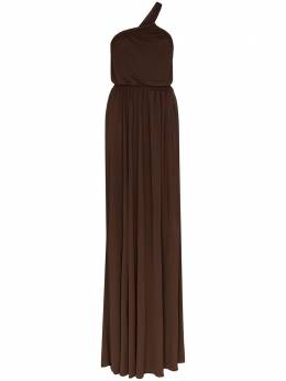 Matteau платье макси на одно плечо ONSDR