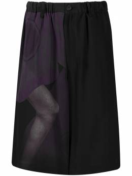 Yohji Yamamoto шорты свободного кроя HNP674051