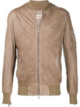 Giorgio Brato куртка-бомбер на молнии GU20S9495V