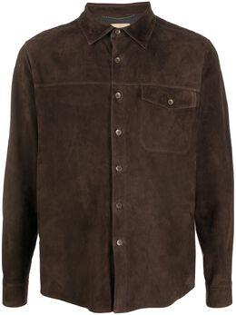 Ajmone рубашка с нагрудным карманом SH1P
