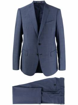 Emporio Armani костюм-двойка с однобортным пиджаком 51VMEB51502R