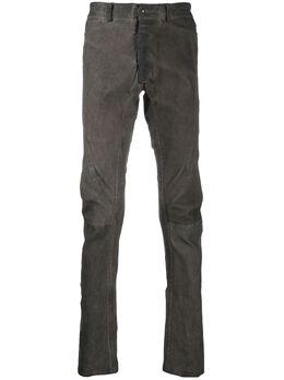 Isaac Sellam Experience брюки с декоративными швами HEDONISTESTRETCH