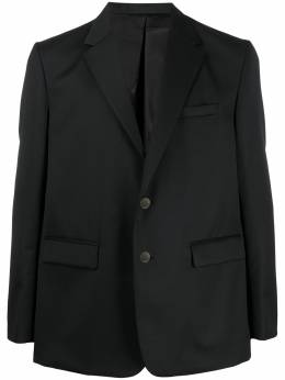 Fumito Ganryu пиджак со складкой на спине FU3JA02