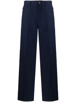 Jil Sander строгие брюки свободного кроя JSPQ301005WQ251500