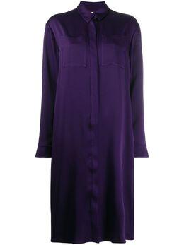 Maison Rabih Kayrouz платье-рубашка с нагрудным карманом SD1208409
