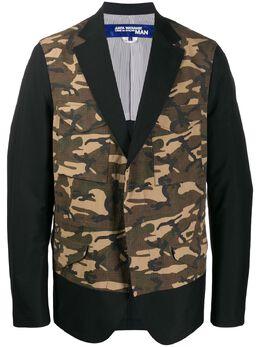 Junya Watanabe Man пиджак с камуфляжным принтом WEJ016S20