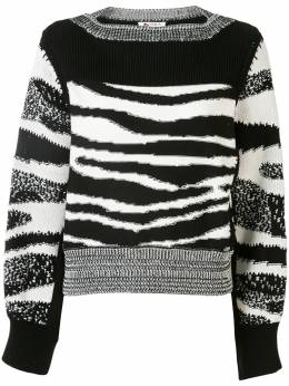 Ports 1961 жаккардовый свитер с разрезами на рукавах PW220KFC62YCOU015