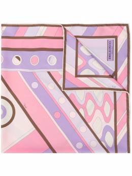 Emilio Pucci шарф с абстрактным принтом 0HGB720HV72