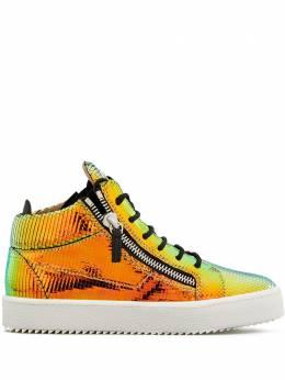 Giuseppe Zanotti Design высокие кроссовки Kriss с эффектом металлик RS00042002