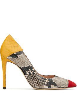Giuseppe Zanotti Design туфли-лодочки Adela Trio со вставками E060012001