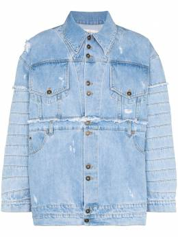 Faith Connexion джинсовая куртка с эффектом потертости X5302DNTM29