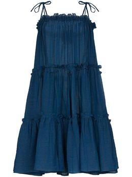 Lisa Marie Fernandez платье с оборками 2020RES286MBOG