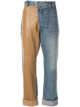 Monse джинсы с контрастной вставкой MR19E0710LTR