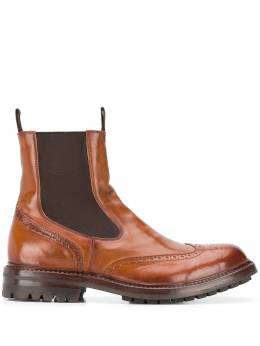 Officine Creative Exeter leather ankle boots OCUEXET006CTONED279