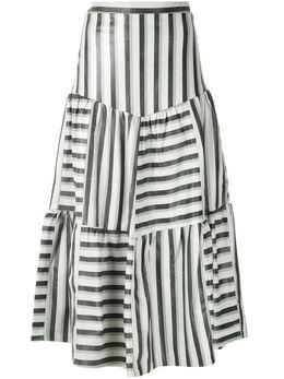 Andrea Bogosian юбка миди со вставками 003716