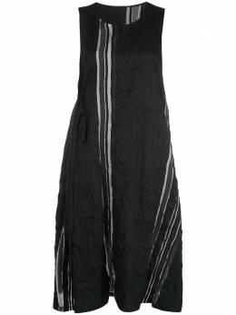 Y's платье миди со складками YND13010