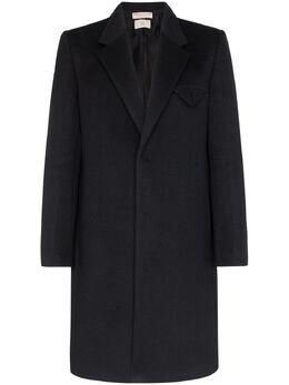 Bottega Veneta однобортное пальто 595946VKCQ0