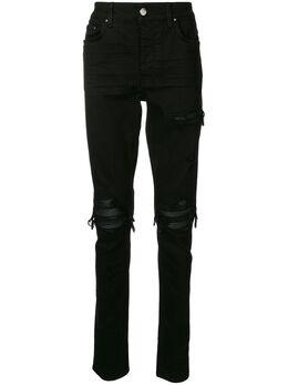 Amiri джинсы кроя слим с эффектом потертости XM01200SD