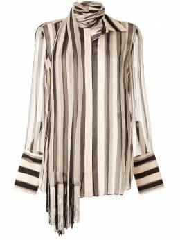 Monse блузка с завязками на воротнике MR200512CSC