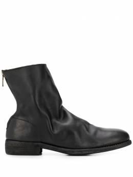 Guidi ботинки с эффектом кракле 986X