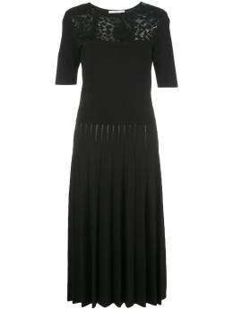 Jason Wu Collection платье миди с контрастными вставками R2003006A