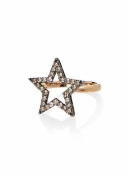 Rosa De La Cruz золотое кольцо с бриллиантами STR400118KROSE