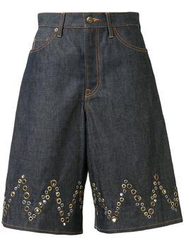 Kolor шорты А-силуэта с люверсами 20SCLP04126