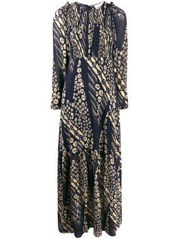 Ba&sh платье Ollie с принтом 1H19OLLI