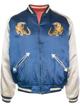 Fake Alpha Vintage 1950s Souvenir bomber jacket SO0021