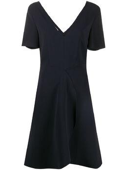 Stella McCartney короткое платье с V-образным вырезом 600875SCA06