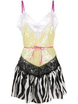 The Attico коктейльное платье с пайетками 201WCA27H043
