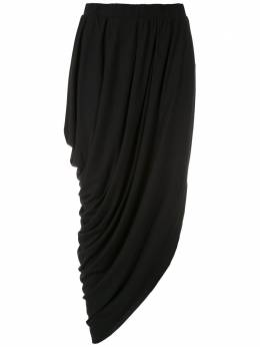 Uma | Raquel Davidowicz юбка миди Maldivas с драпировкой SAIAMALDIVAS02SS20