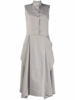 Mulberry расклешенное платье в полоску MYWQ501927YQ250110