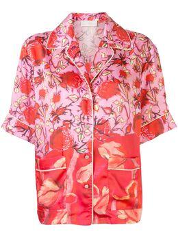 Peter Pilotto рубашка с короткими рукавами и цветочным принтом 20PSST051010