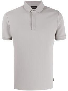 Emporio Armani однотонная рубашка поло 3H1F941JPDZ