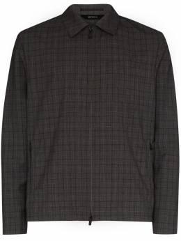 Z Zegna куртка-рубашка в клетку 7227331VBCG0